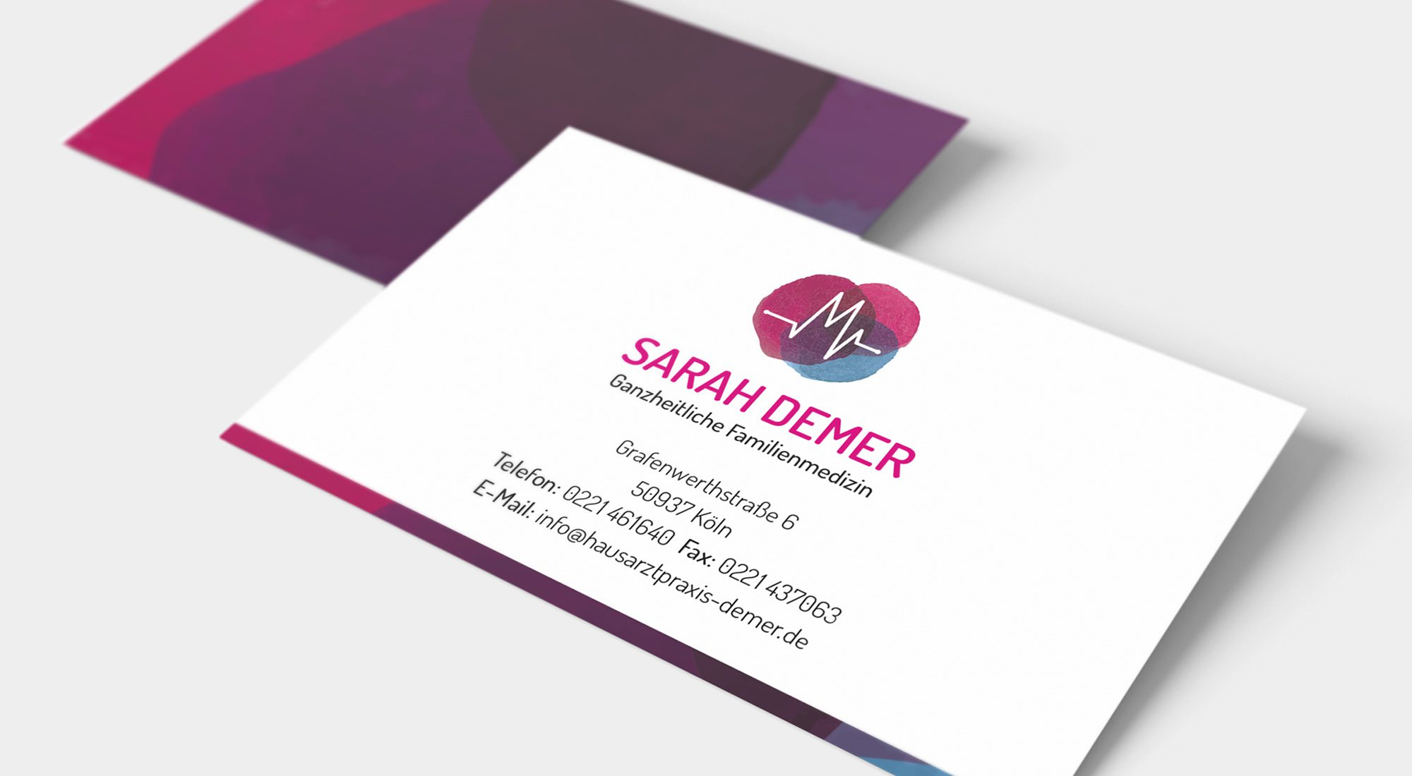 """Geschäftsausstattung """"Sarah Demer"""" 3"""