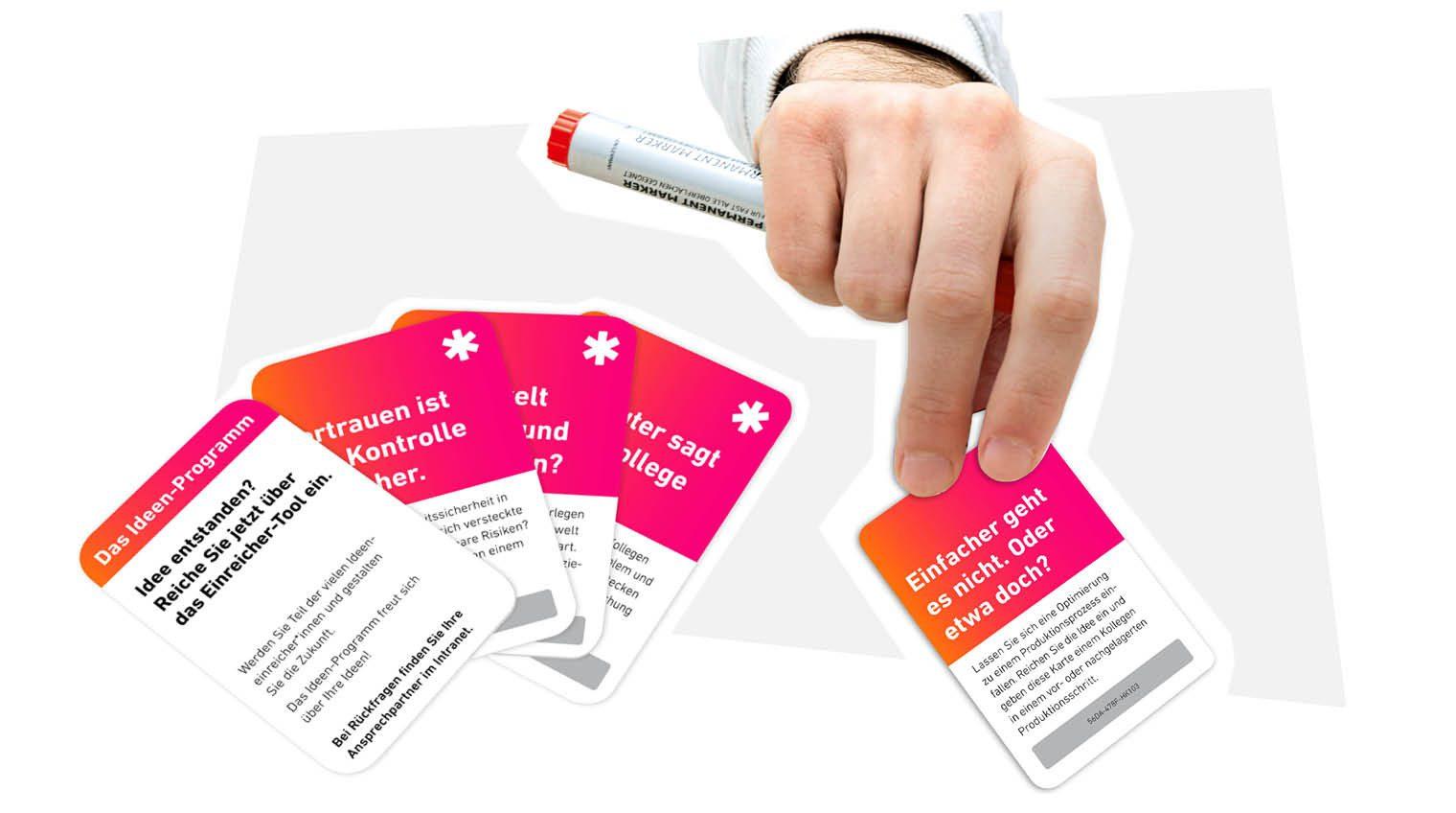 "Kartenspiel ""Idea Cards"" 3"