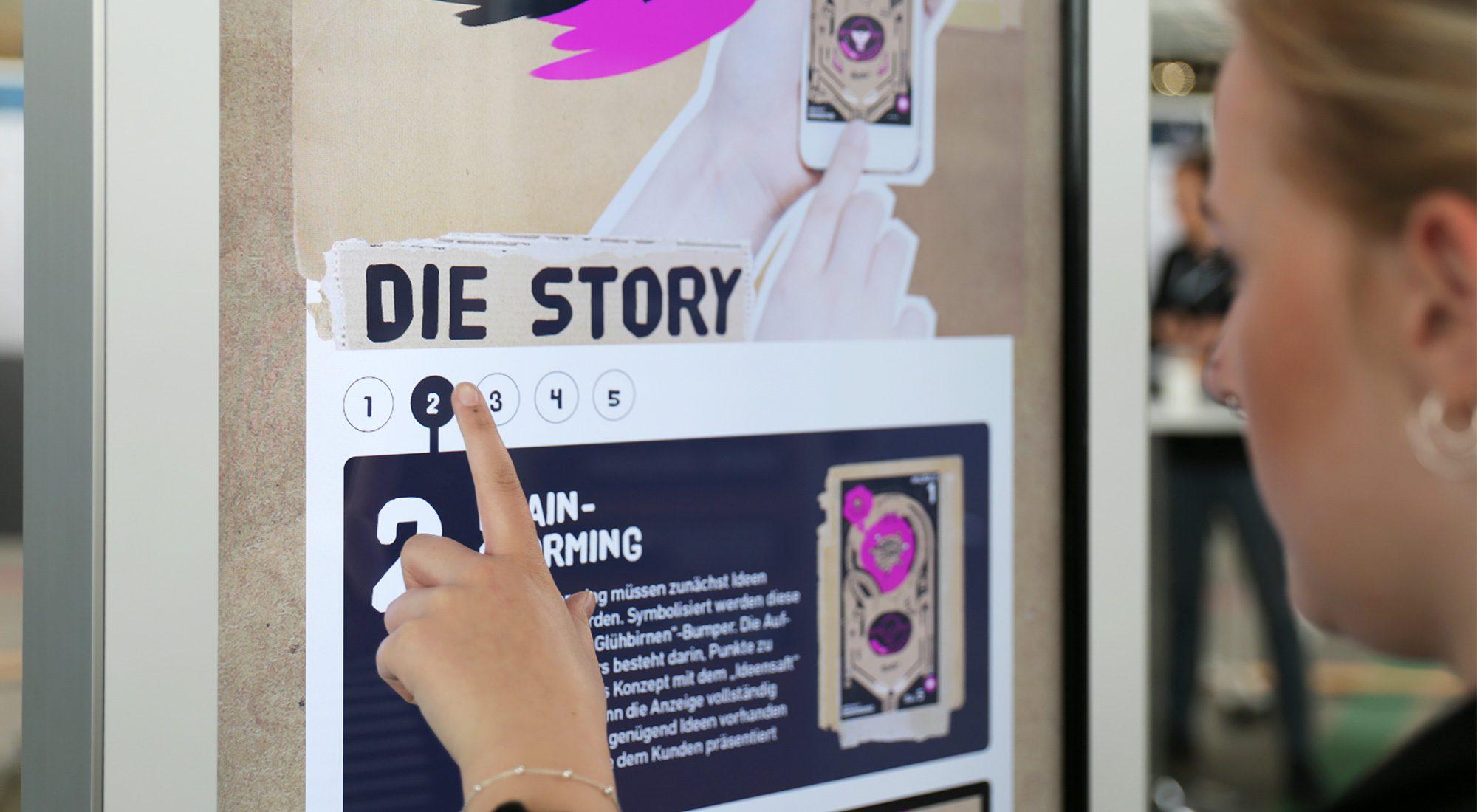 "Digitale Stele ""Siedepunkt interactive"" 13"