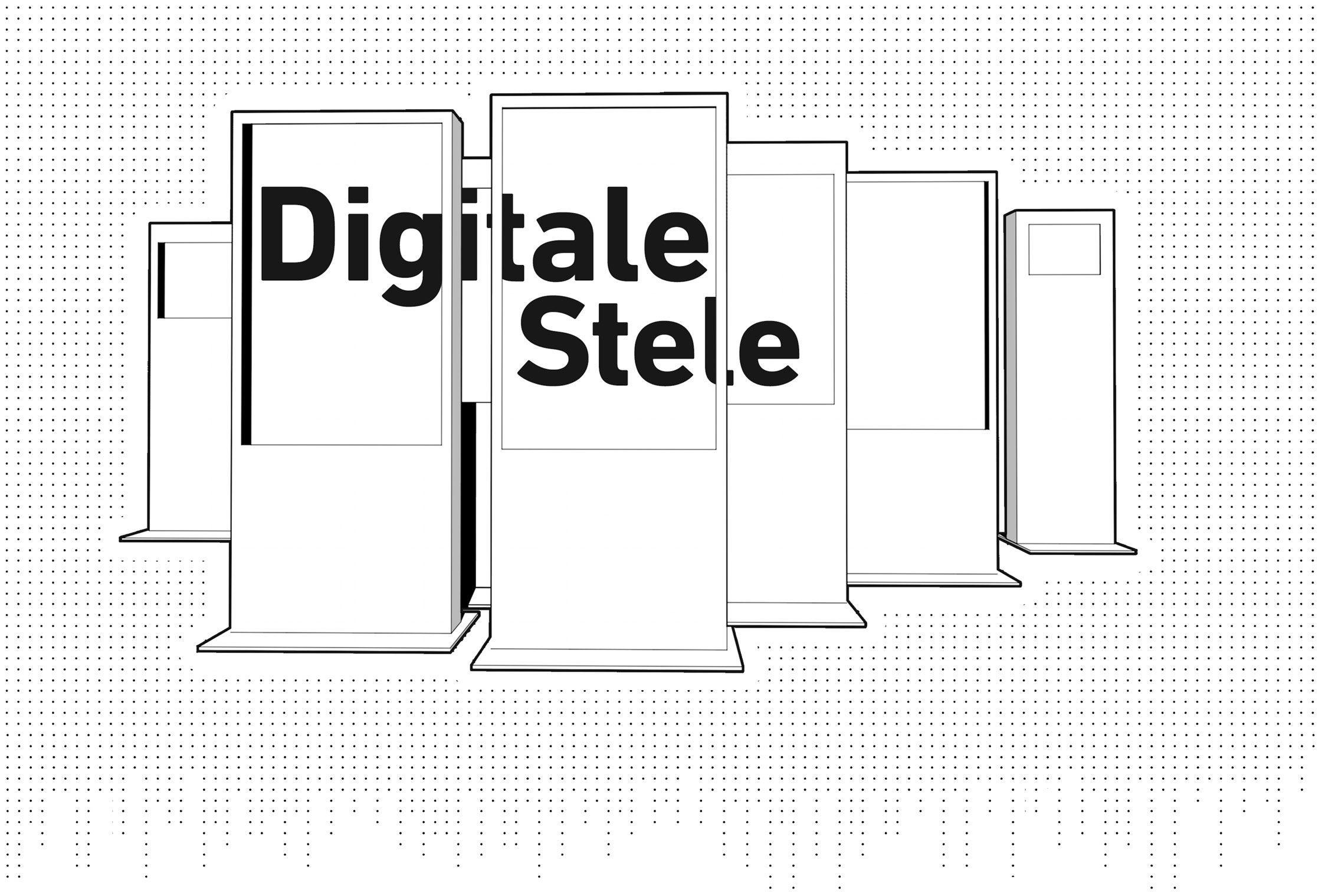 "Digitale Stele ""Siedepunkt interactive"" 1"