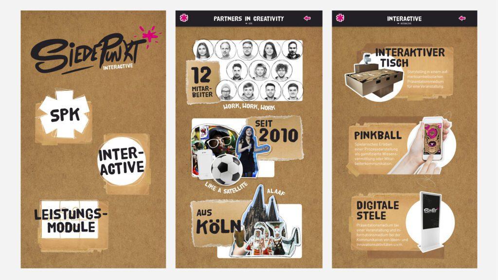 "Digitale Stele ""Siedepunkt interactive"" 7"
