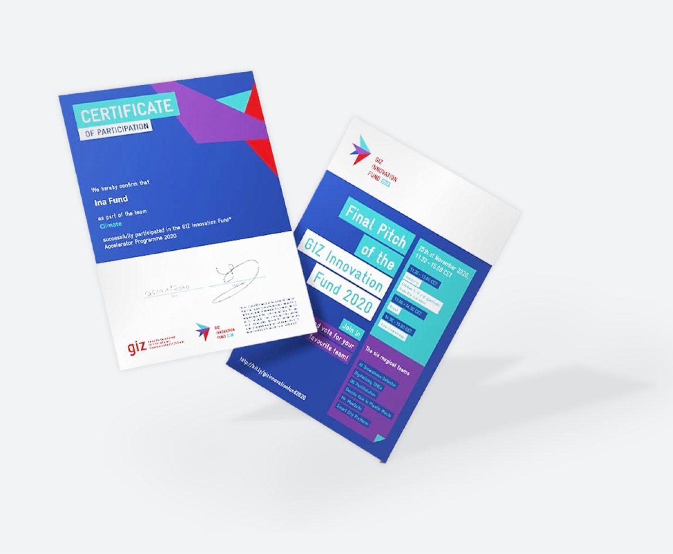 GIZ // Begleitung des Innovation Fund 11